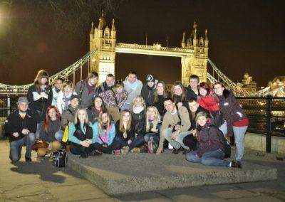 Pomaturitní studium - společné akce - Londýn