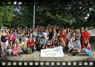 Pomaturitní studium - společné akce - Mavo párty