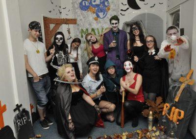 Pomaturitní studium - společné akce - Halloween den