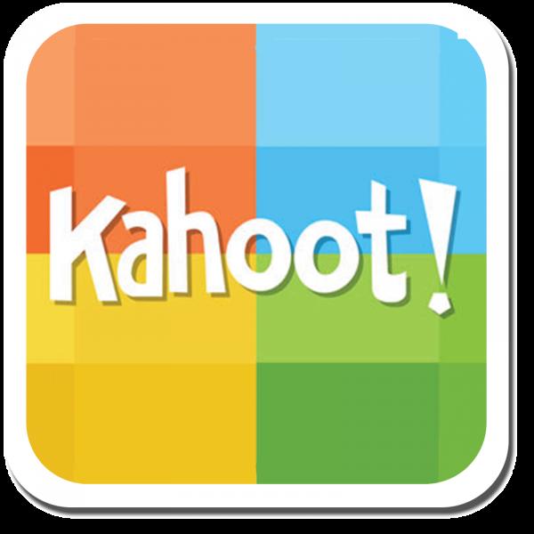 barevné logo Kahoot